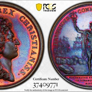 '1664' (Post-1880) Betts-40 French Indies Restrike Medal SP65BN PCGS