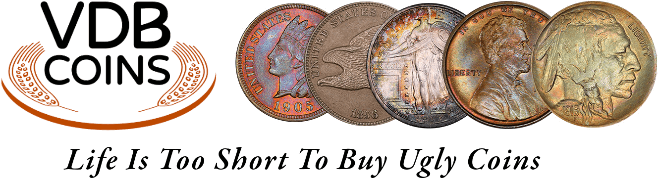 VDB Coins - Life Is Too Short To Buy Ugly Coins
