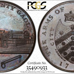 Great Britain 1797 One Penny Token Gloucestershire, Gloucester, New County Gaol DH-10 MS64BN PCGS
