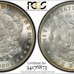 1880-O Morgan Dollar MS64 PCGS, High-End, Brilliant, and Tough!