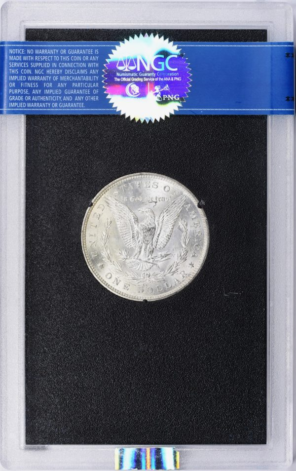 1883-CC GSA Hoard Brilliant Morgan Dollar, VAM-5A, MS64 NGC CAC