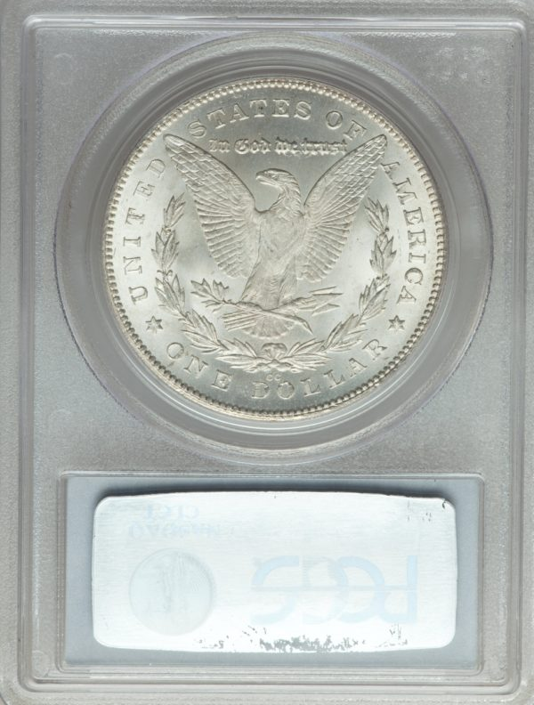 Key VAM-4 1880/79-CC Reverse of '78 Morgan Dollar, Brilliant MS65 PCGS