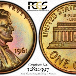 1961 Lincoln Cent PR66RB PCGS 'A Taste of Honey'