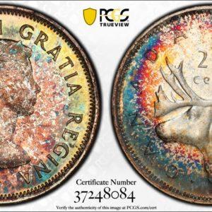 Canada 1962 Quarter PL66 PCGS Lovely 'Cornucopia'