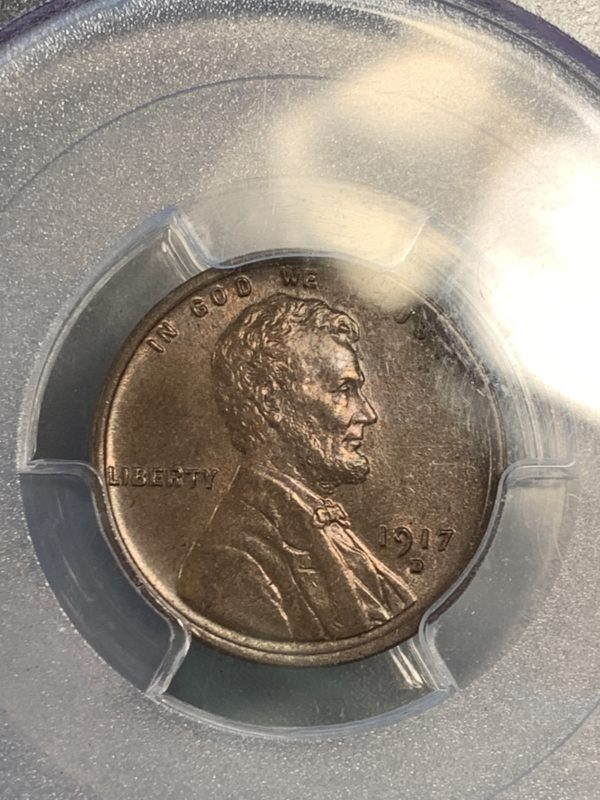 1917-D Cent MS65BN PCGS CAC, High-End Gem With Great Surfaces