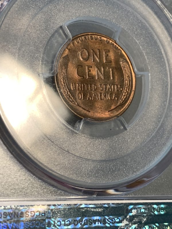 1931-S Lincoln Cent Nice MS64RB PCGS