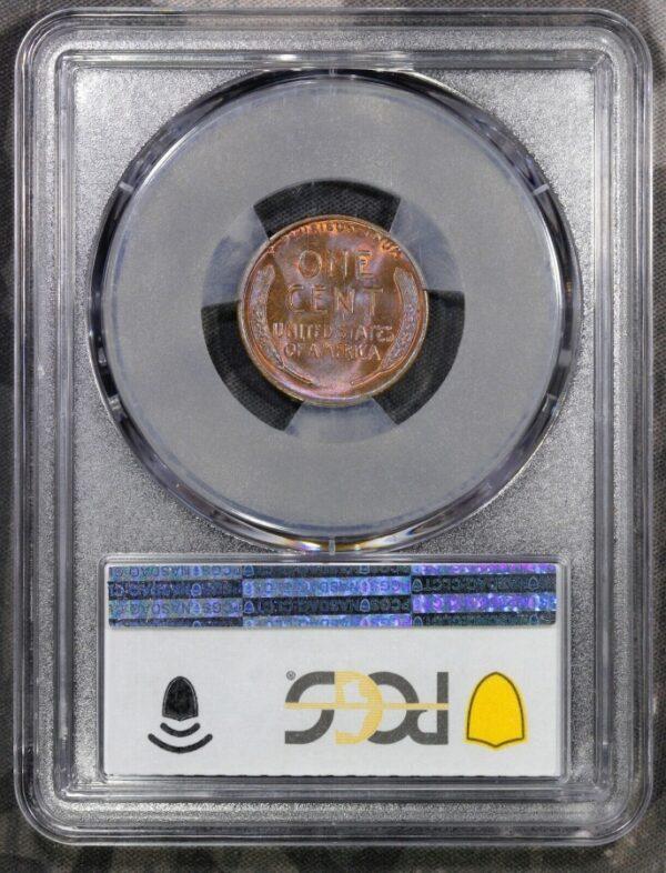 1927 Lincoln Cent MS64BN PCGS 'Orange Wine'