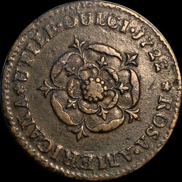 1723 Rosa Americana Penny