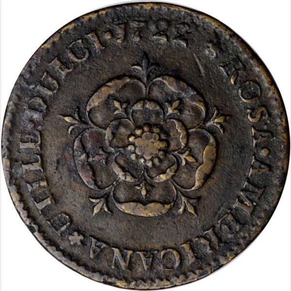 1722 Rosa Americana Penny UTILE DULCI