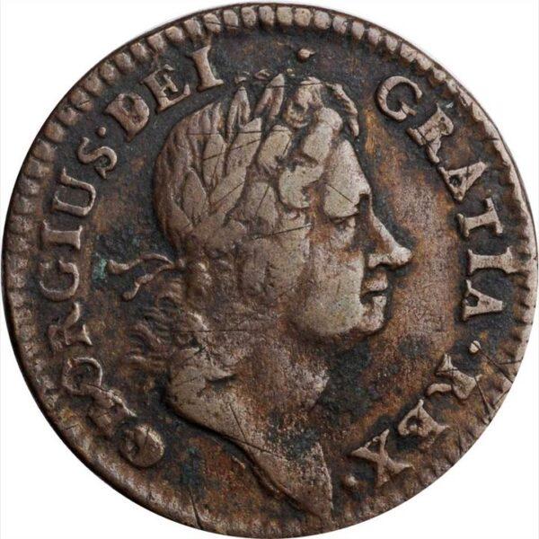 1723 Hibernia Halfpenny
