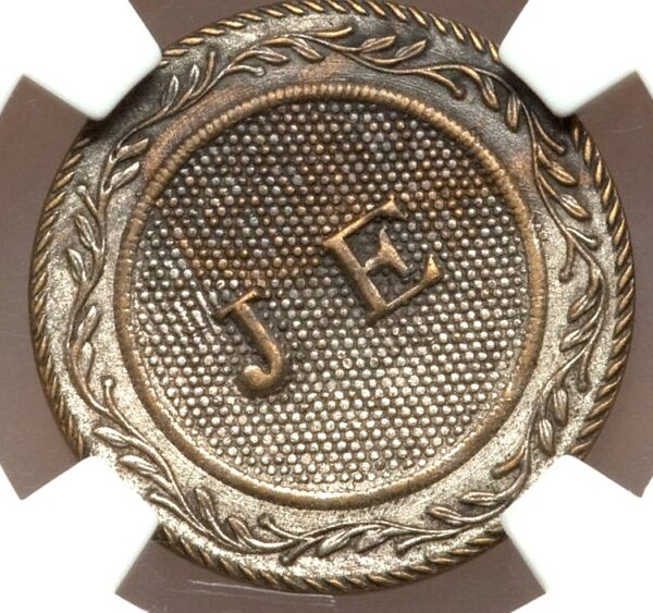 1820s Richard Trested Merchant Token, Rulau-E-NY-405A, MS61 NGC, Ex: Ford