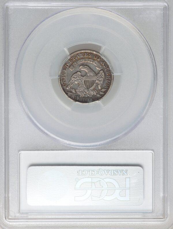 1834 Dime Large 4 JR-5 XF40 PCGS