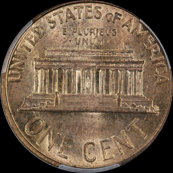 1960-D Over D Large Date Cent RPM FS-502 MS65RD PCGS