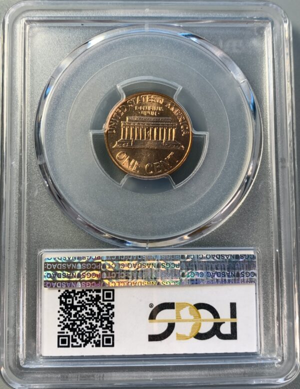 1960-D Over D Small Over Large Date Lincoln Cent MS65RD PCGS