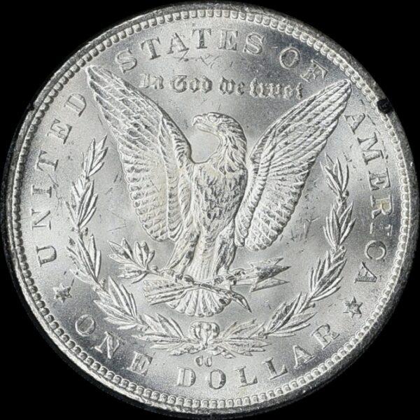 1884-CC GSA Morgan Dollar MS64 NGC CAC