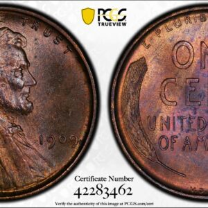 1909 VDB Cent, Doubled Die Obverse, FS-1102, MS64RB PCGS