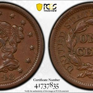 1848 Large Cent XF45 PCGS