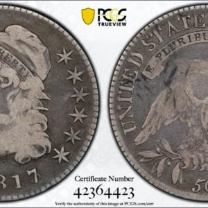 1817/3 Bust Half VG8 PCGS